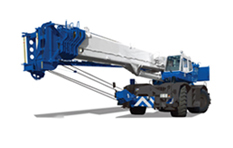 Rough Terrain Hydraulic Crane